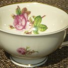 VINTAGE SYRACUSE VICTORIA ROSE PORCELAIN FOOTED DEMITASSE CUP FEDERAL SHAPE