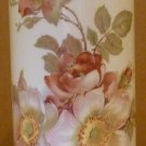 VINTAGE GORGEOUS FINE PORCELAIN VASE BAVARIA WEST GERMANY ROSES