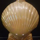 1968 JIM BEAM FLORIDA SEA SHELL LUSTERWARE PORCELAIN DECANTER BOTTLE