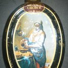 JIM BEAM PORCELAIN DECANTER BOTTLE BY VERMEER 'MAIDSERVANT POURING MILK'