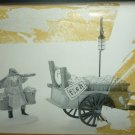 CHELSEA MARKET FISH MONGER & CART #5814-9 DEPT 56 HERITAGE VILLAGE