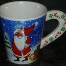 CHRISTMAS PORCELAIN SNOW MEN MUG