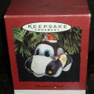 HALLMARK KEEPSAKE TREE ORNAMENT 'CHRISTMAS PATROL' CAR 1995  CHRISTMAS