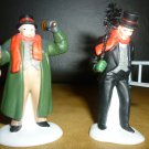 TOWN CRIER & CHIMNEY SWEEPER HERITAGE VILLAGE 2pc's  DEPT 56 #5569-7