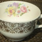 GORGEOUS FINE PORCELAIN TEA COFFEE CUP USA 24K FILIGREE DESIGN CRONIN CHINA