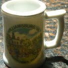 VINTAGE WILLIAMSBURG MEMORABILIA PORCELAIN MINI STEIN JAPAN