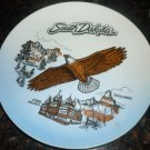 TRAVEL MEMORABILIA SOUTH DAKOTA PORCELAIN PLATE MADE IN JAPAN