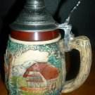 VINTAGE CERAMIC LIDDED STEIN DANCING LADY R.BAY GERMANY 'SOUNDS OF MUSIC'