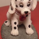 COLLECTIBLE FIGURINE CUTE PUPPY DALMATION BY PRICE PRODUCTS