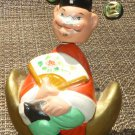 VINTAGE CHINESE CLAY FIGURINE HUI CHAN IN A BOX HUMOROUS