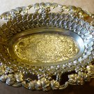 SILVERPLATE ORNATED ITRICATE BOWL BY HOLIDAY DESIGNS MADE IN JAPAN