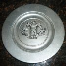 VINTAGE PEWTER SNOWBIRD HORSE SHOW COLLECTIBLE PLATE AUGUSTA NJ BON CHEF