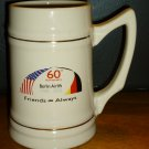 COMMEMORATIVE BERLIN AIRLIFT 1948-2008 60TH ANNIVERSARY CERAMIC STEIN