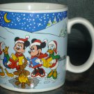 CHARMING DISNEY COLLECTIBLE PORCELAIN COFFEE/TEA MUG CHRISTMAS BY APPLAUSE