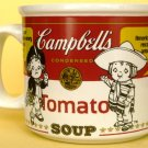 COLLECTIBLE CAMPBELL SOUP MUG COWBOYS AND IRISH