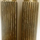 INTERNATIONAL COMPANY SILVERPLATED SALT & PEPPER SHAKERS SQUARE HIGHRISE BUILDING