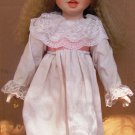 CHARMING PORCELAIN DAYS OF THE WEEK GORHAM SUNDAY'S CHILD DOLL BY GORHAM W/STAND