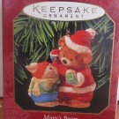 HALLMARK 1999 KEEPSAKE MARY'S BEAR CHRISTMAS TREE ORNAMENT BY MARY HAMILTON