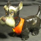 "VINTAGE PORCELAIN WALT DISNEY LADY & THE TRAMP FIGURINE ""JOCK"" DOG SCOTTIE"