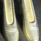 VINTAGE HIGH HEEL SHOES SALT & PEPPER SHAKERS BY GODINGER