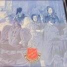 SALVATION ARMY WOMEN'S AUXILIARY COLLECTIBLE PORCELAIN HANDPAINTED TILE TRIVET