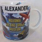 NATIONAL AIR AND SPACE MUSEUM SMITHSONIAN COFFEE TEA MUG CUP 'ALEXANDER'