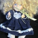 CHARMING PORCELAIN MUSIC BOX DOLL BY COLLECTOR'S CHOICE