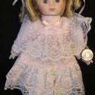 CHARMING COLLECTIBLE EDITION PORCELAIN DOLL HEIDI BY BRINN'S