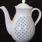 VINTAGE FINE BONE CHINA NINA CAMPBELL DESIGN STAFFORDSHIRE ENGLAND TEA/COFEE POT