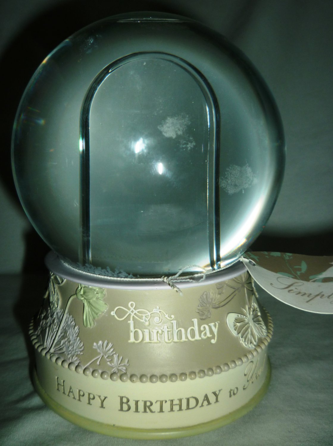MUSIC BOX 'HAPPY BIRTHDAY' BY GIFTCRAFT SIMPLY YOU