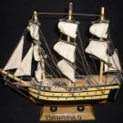 WOODEN SAILBOAT MODEL YACHT NAUTICAL DESIGN BAHAMA