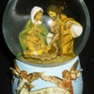 CHRISTMAS WATER GLOBE MUSIC BOX 'JOY TO THE WORLD'