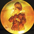 VILETTA FINE CHINA AUTUMN WANDERER 1982 COLLECTOR PLATE BY THORNTON ULZ NMB