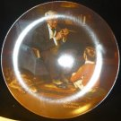 KNOWLES COLLECTIBLE PLATE 'THE TYCOON' NORMAN ROCKWELL 1982 NMB