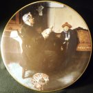 ROYALWOOD CHINA COLLECTIBLE PLATE NORMAN ROCKWELL'S 'THE DOCTOR AND THE DOLL'