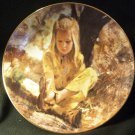 PM VILETTA FINE CHINA SAND IN HER SHOE 1979 COLLECTOR PLATE BY THORNTON ULZ NMB