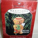 HALLMARK KEEPSAKE ORNAMENT COLLECTOR'S CLUB FOREVER FRIENDS BEAR 1998 BROWNSWORD