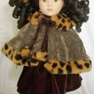 COLLECTOR' CHOICE PORCELAIN DOLL BY DanDee COLD WINTER