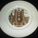 1941 SEPIA TRANSFER HISTORICAL PLATE WEDGWOOD OLD LONDON VIEWS ST.JAMES'S PALACE