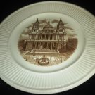 1941 SEPIA TRANSFER HISTORICAL PLATE WEDGWOOD OLD LONDON VIEWS ST. PAULS