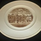 1941 SEPIA TRANSFER HISTORICAL PLATE WEDGWOOD OLD LONDON HORSE GUARDS WHITEHALL