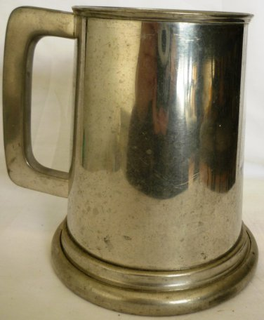 VINTAGE RAINMOND VINERS OF SHEFFIELD PEWTER ENGLAND TANKARD BEER STEIN MUG