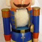 VINTAGE CHRISTMAS DECOR WOODEN SOLDIER NUTCRACKER GERMANY