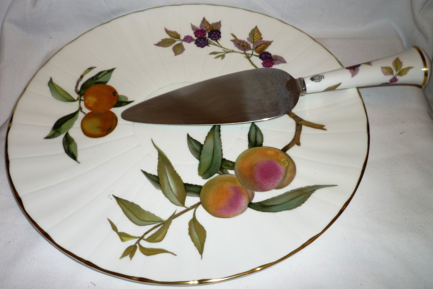 Royal Worcester Cake Plate
