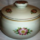 VINTAGE HALL'S SUPERIOR QUALITY KITCHENWARE CHINA VEGETABLE LIDDED BOWL TUREEN
