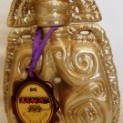 COLLECTIBLE CERAMIC FIGURAL LIQUEUR BOTTLE 0.5 L KAZAKHSTAN