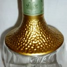 COLLECTIBLE TRES GENERACIONES REPOSADO PREMIUM TEQUILA CLEAR GLASS BOTTLE