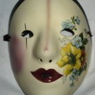 COLLECTIBLE HANDPAINTED CERAMIC MASK BY FANCY FACES KINGS & CLOWNS COLLECTION