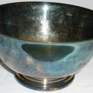 PAUL REVERE REPRODUCTION SILVERPLATED PEDESTAL BOWL
