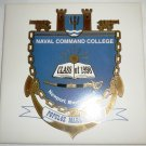CERAMIC DECORATIVE TILE NAVAL COMMAND COLLEGE CLASS OF 1998 US NAVAL WAR COLLEGE BY SCREENCRAFT